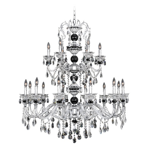 Allegri Lighting Faure 18 Light Crystal Chandelier 024355-010-FR001