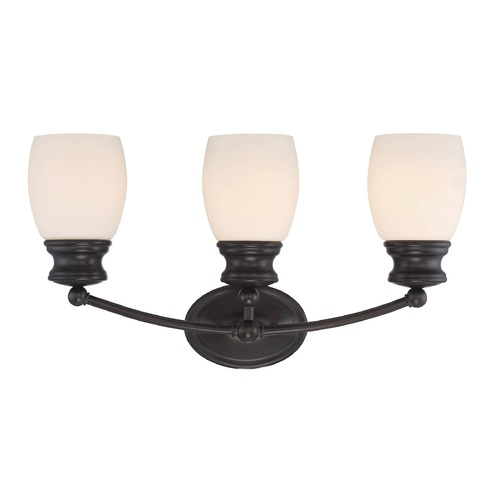 Savoy House Savoy House Lighting Elise English Bronze Bathroom Light 8-9127-3-13