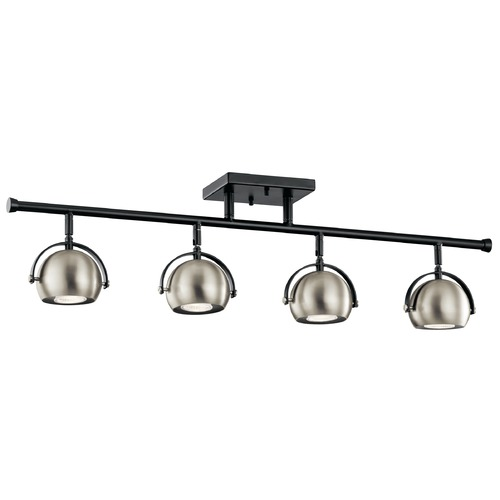 Kichler Lighting Mid-Century Modern Directional Spot Light Black Solstice by Kichler Lighting 42589BK