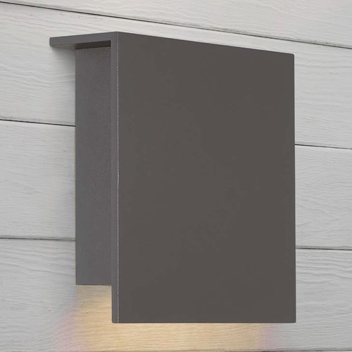Modern Forms by WAC Lighting Square LED Wall Light WS-W38608-BZ