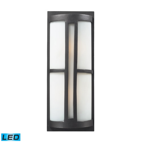 Elk Lighting Elk Lighting Trevot Graphite LED Outdoor Wall Light 42396/2-LED