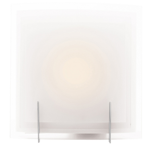 Access Lighting Access Lighting Nitrous Brushed Steel Sconce C62215BSFSTEH3126Q