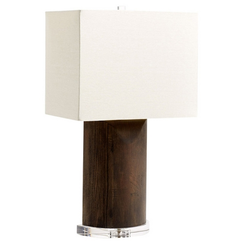 Cyan Design Cyan Design Athens Ore Black Table Lamp with Rectangle Shade 05895-1