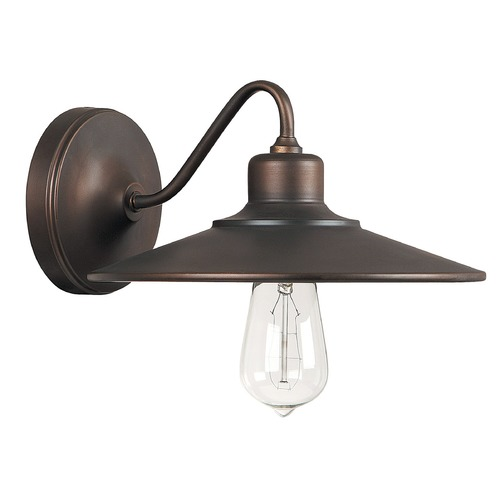 Capital Lighting Capital Lighting Urban Burnished Bronze Sconce 4191BB