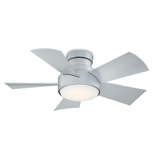 Modern Forms by WAC Lighting Modern Forms Titanium Silver 38-Inch LED Smart Ceiling Fan 2041LM 3000K FH-W1802-38L-TT