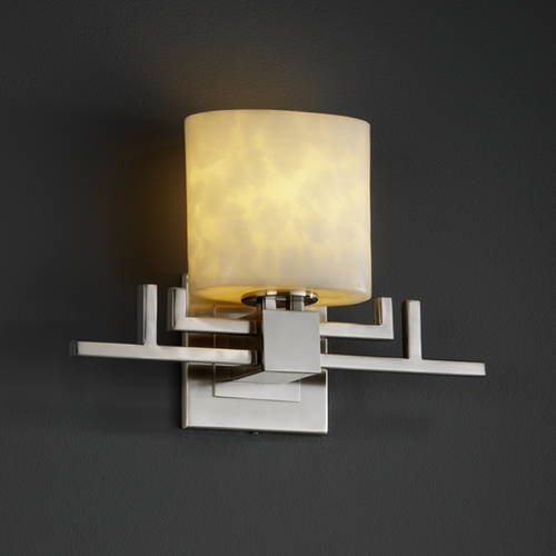 Justice Design Group Justice Design Group Clouds Collection Sconce CLD-8711-30-NCKL