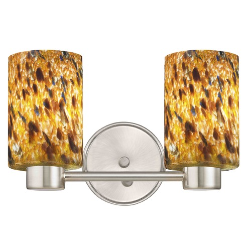 Design Classics Lighting Aon Fuse Satin Nickel Bathroom Light 1802-09 GL1005C