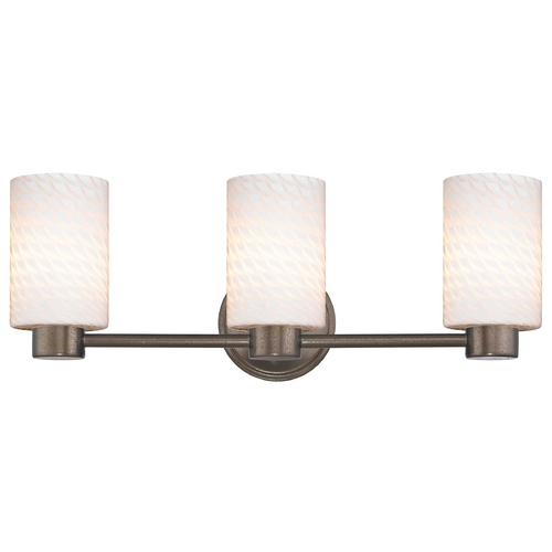 Design Classics Lighting Design Classics Lighting Aon Fuse Heirloom Bronze Bathroom Light 1803-62 GL1020C