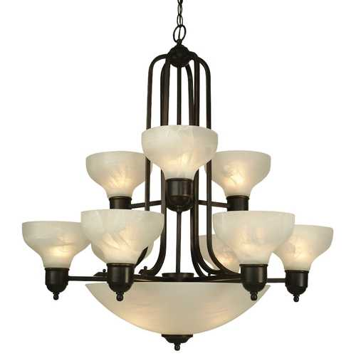 Dolan Designs Lighting Twelve-Light Chandelier 1332-20