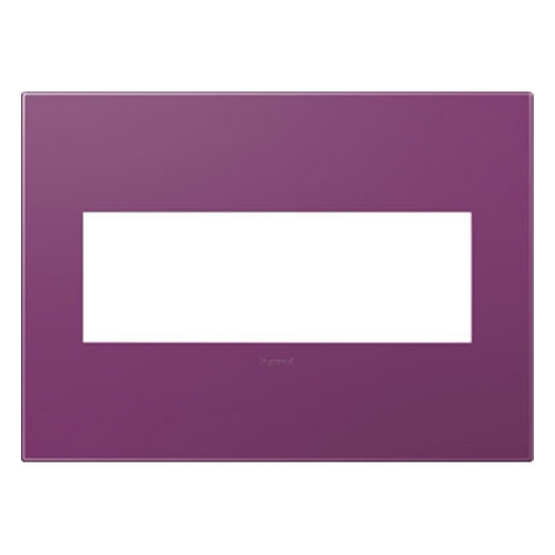 Legrand Adorne Legrand Adorne Plum 3-Gang Switch Plate AWP3GPL4