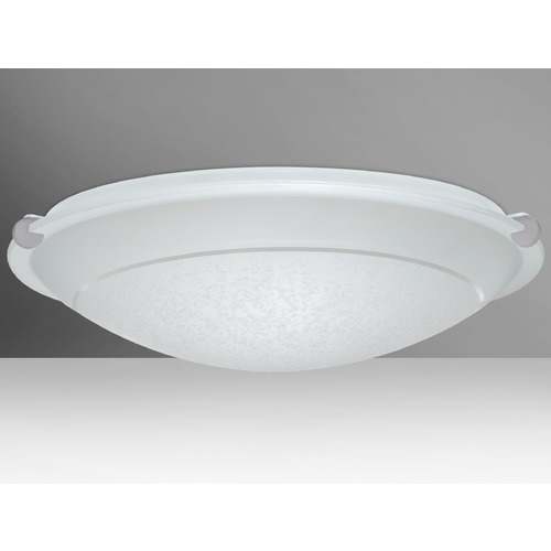 Besa Lighting Besa Lighting Trio Satin Nickel Flushmount Light 9680SFR-SN