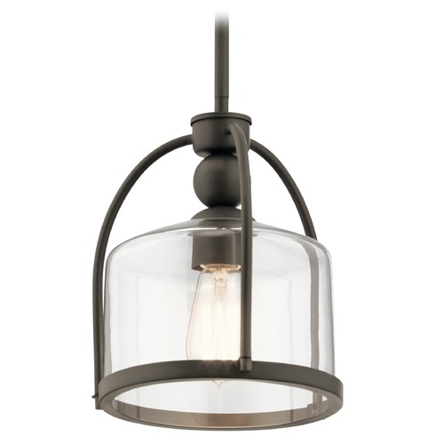 Kichler Lighting Modern Pendant Light Olde Bronze by Kichler Lighting 42798OZ