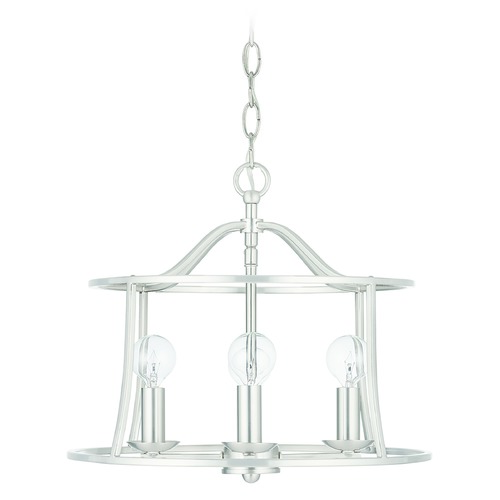 HomePlace by Capital Lighting HomePlace Cameron Brushed Nickel 4-Light Pendant Light with 239541BN