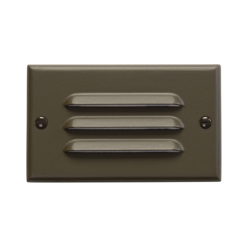 Kichler Lighting Kichler LED Recessed Step Light in Architectural Bronze Finish 12600AZ