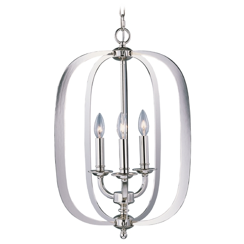 Maxim Lighting Maxim Lighting Fairmont Polished Nickel Pendant Light 22372PN
