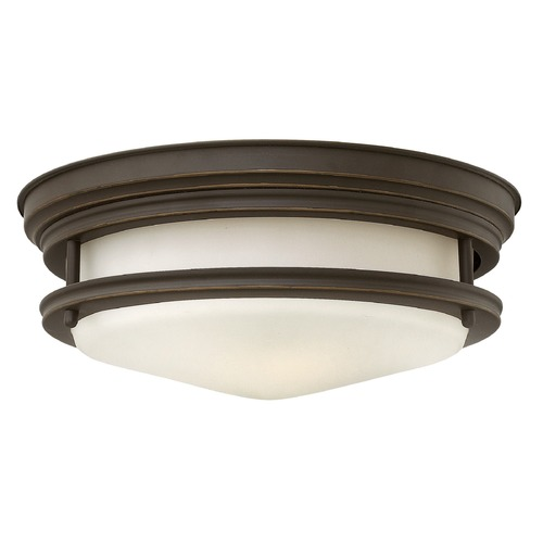 Hinkley Lighting Hinkley Lighting Hadley Oil Rubbed Bronze Flushmount Light 3302OZ-GU24