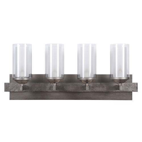 Jeremiah Lighting Jeremiah Lighting Mod Natural Iron/vintage Iron Bathroom Light 39304-NIVNI