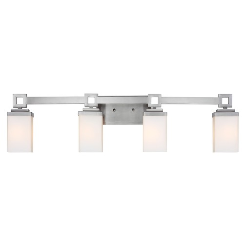 Golden Lighting Golden Lighting Nelio Pewter Bathroom Light 4444-BA4 PW