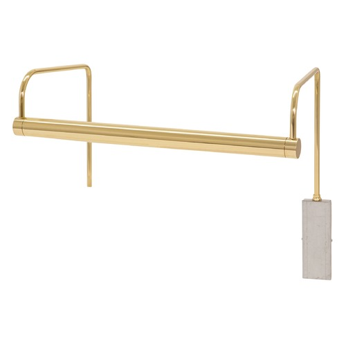 House of Troy Lighting House Of Troy Slim-Line Polished Brass LED Picture Light SLEDZ15-61