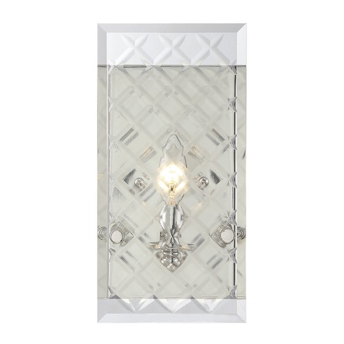 Savoy House Savoy House Lighting Addison Polished Nickel Sconce 9-6042-1-109