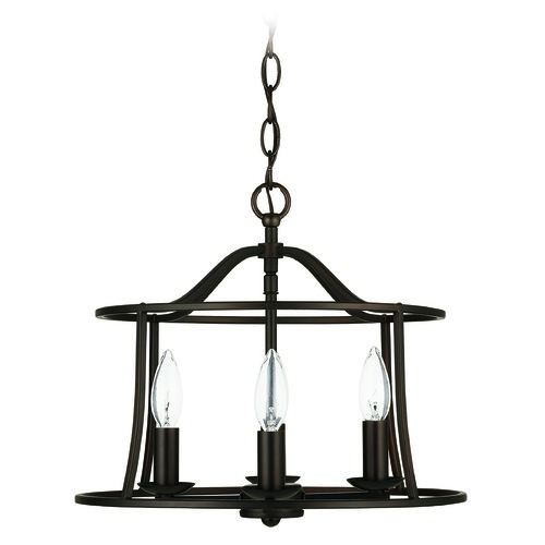 HomePlace by Capital Lighting HomePlace Cameron Bronze 4-Light Pendant Light with 239541BZ