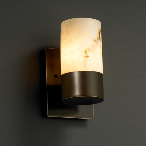 Justice Design Group Justice Design Group Lumenaria Collection Sconce FAL-8761-10-DBRZ