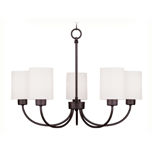 Livex Lighting Livex Lighting Sussex Bronze Chandelier 5265-07