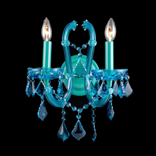 Avenue Lighting Avenue Lighting Ocean Drive Blue Sconce HF1041-BLU