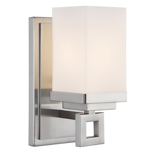 Golden Lighting Golden Lighting Nelio Pewter Sconce 4444-BA1 PW
