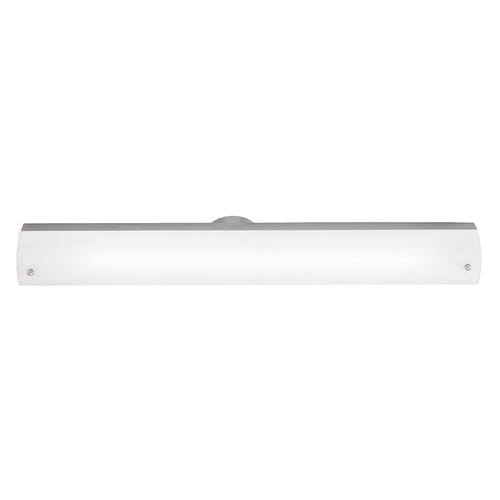 Access Lighting Access Lighting Vail Brushed Steel Bathroom Light 31000-BS/OPL