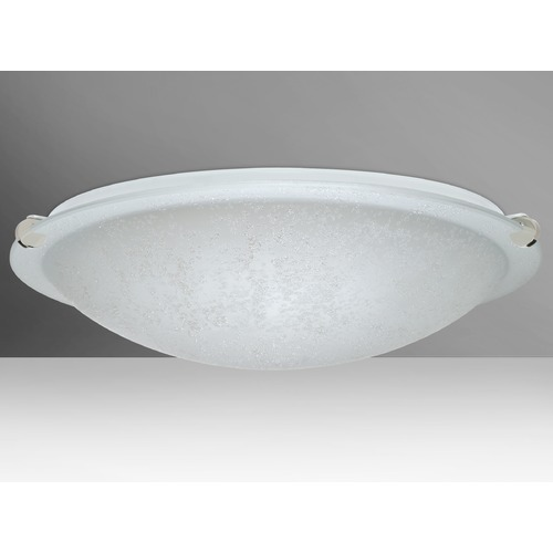Besa Lighting Besa Lighting Trio Polished Nickel LED Flushmount Light 9680ST-LED-PN