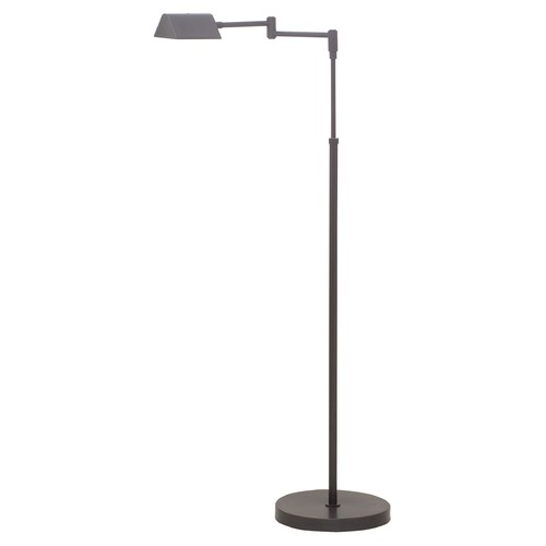 House of Troy Lighting House Of Troy Delta Oil Rubbed Bronze LED Swing Arm Lamp with Triangle Shade D100-OB