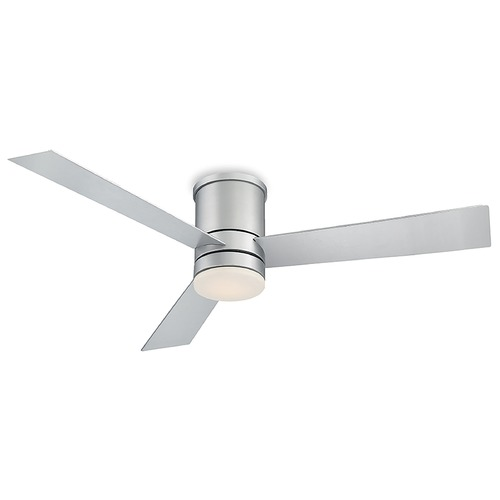 Modern Forms by WAC Lighting Modern Forms Titanium Silver 52-Inch LED Smart Ceiling Fan 1600LM 3000K FH-W1803-52L-TT