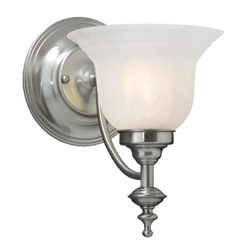 Dolan Designs Lighting Sconce with Alabaster Glass 667-09