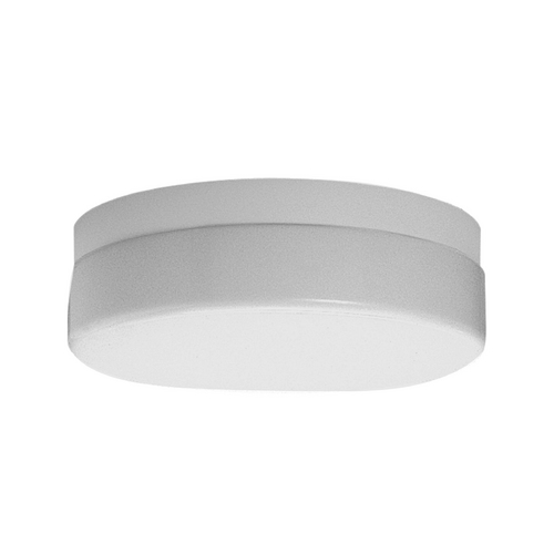 Progress Lighting Progress Close To Ceiling Light with White in White Finish P7372-30