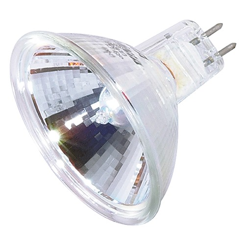 Satco Lighting MR-16 Halogen Light Bulb 2 Pin Narrow Spot 9 Degree Beam Spread 2900K 12V Dimmable S1969