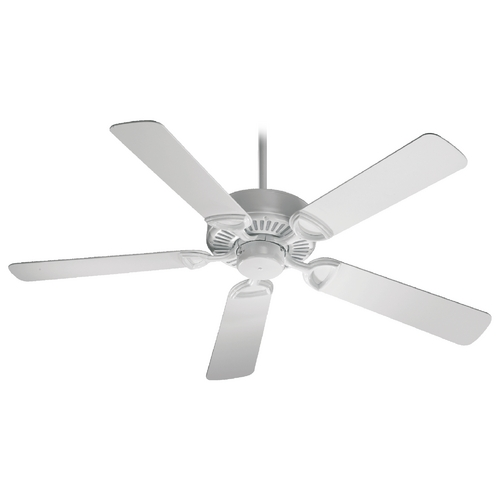 Quorum Lighting Quorum Lighting Estate White Ceiling Fan Without Light 43525-6
