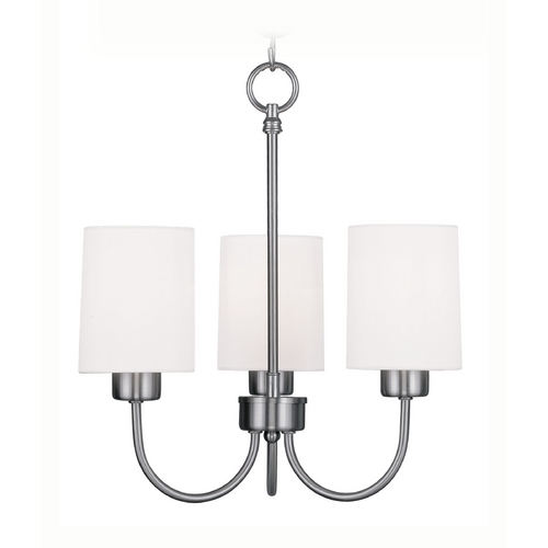 Livex Lighting Livex Lighting Sussex Brushed Nickel Mini-Chandelier 5263-91