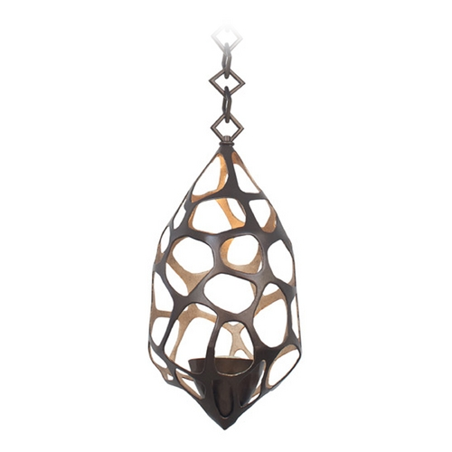 Kalco Lighting Kalco Lighting Fossil Bronze Gold Mini-Pendant Light 6561BZG