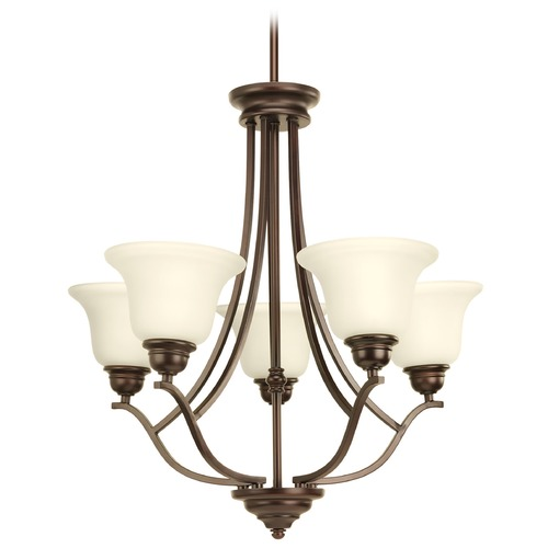 Progress Lighting Progress Lighting Spirit Antique Bronze Chandelier P4605-20