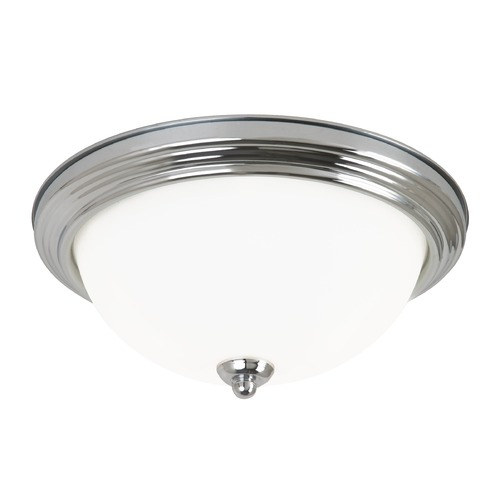 Sea Gull Lighting Sea Gull Lighting Ceiling Flush Mount Chrome LED Flushmount Light 7716391S-05