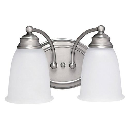 Capital Lighting Capital Lighting Matte Nickel Bathroom Light 1087MN-132