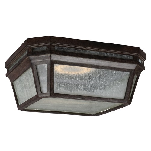Feiss Lighting Feiss Lighting Londontowne Weathered Chestnut LED Close To Ceiling Light OL11313WCT-LED
