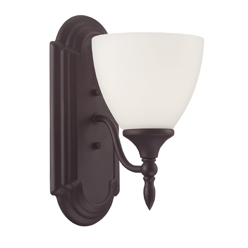 Savoy House Savoy House Lighting Herndon English Bronze Sconce 9-1007-1-13
