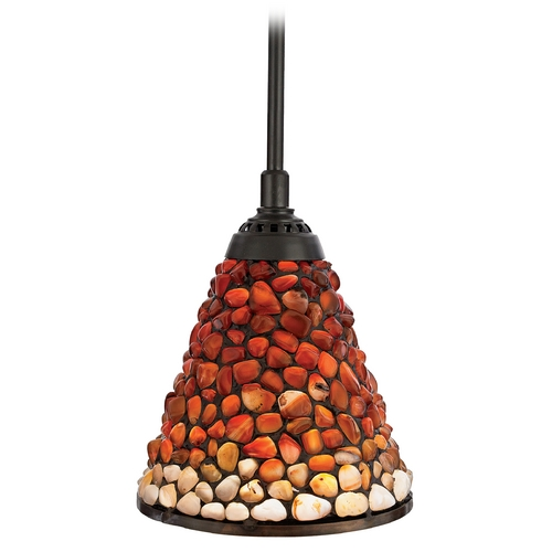 Quoizel Lighting Polished Agate Mini-Pendant TF1507VB