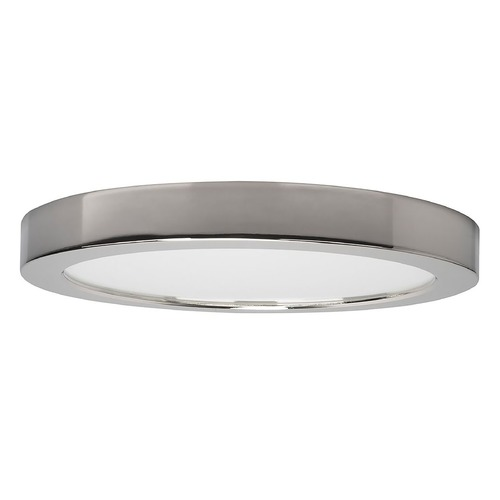 Satco Lighting Satco 9-Inch Round Polished Chrome LED Surface Mount Light 18.5W 3000K 1200LM S21529