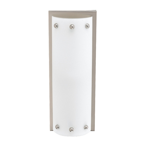 Sea Gull Lighting Centra Brushed Stainless Bathroom Light - Vertical or Horizontal Mounting 47142-98