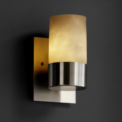 Justice Design Group Justice Design Group Clouds Collection Sconce CLD-8761-10-NCKL