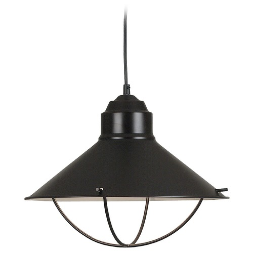 Kenroy Home Lighting Nautical Pendant Light in Oil Rubbed Bronze Finish 66349ORB