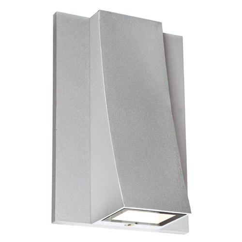 Access Lighting ADA Approved LED Outdoor Wall Light 23062LEDMG-SAT/CLR